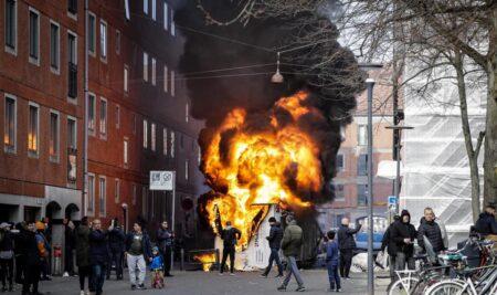 Pressemeddelelse vedr. urolighederne på Nørrebro