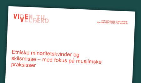 """Kommentarer til rapporten om """"Etniske minoritetskvinder og skilsmisse – med fokus på muslimske praksisser"""""""